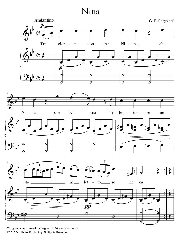 stabat mater pergolesi partitura gratis pdf