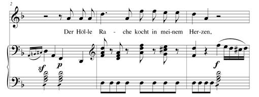 partition la flute enchantee air de la reine de la nuit