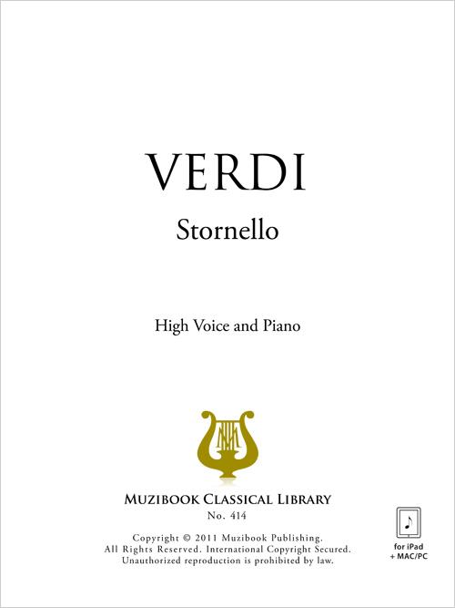 STORNELLO VERDI PDF DOWNLOAD