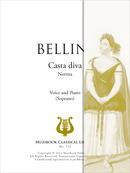 Partition ipad casta diva piano et chant voix haute - Casta diva bellini ...