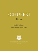 Lieder Vol. 3 De Franz Schubert - Muzibook Publishing