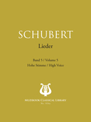 Lieder Vol. 5 De Franz Schubert - Muzibook Publishing