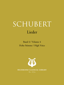 Lieder Vol. 4 De Franz Schubert - Muzibook Publishing