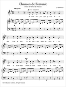Chanson de Fortunio De Jacques Offenbach - Muzibook Publishing